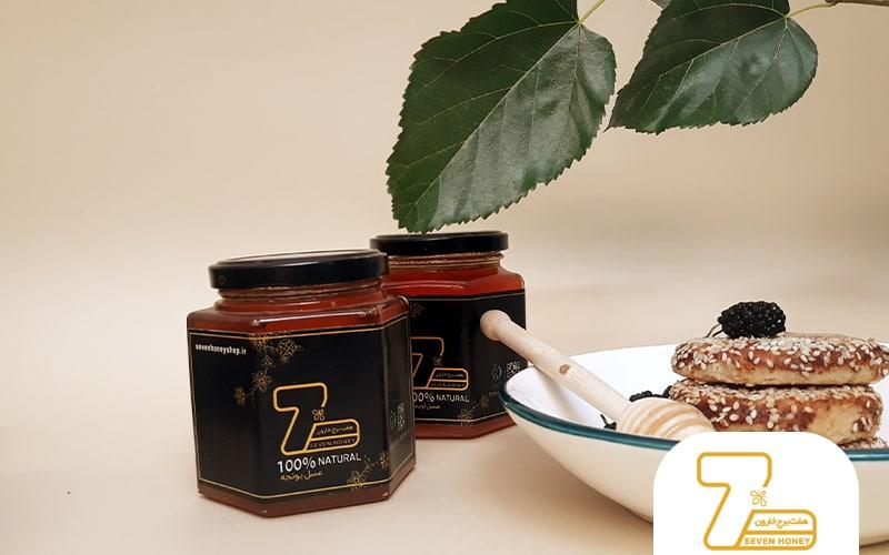 قیمت یک حلب 27 کیلویی عسل کنار